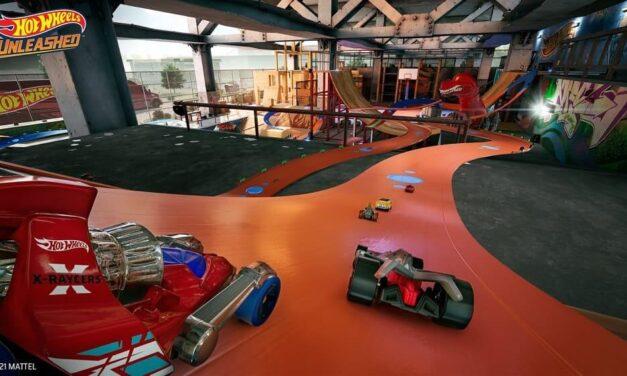 Hot Wheels Unleashed muestra su particular parque de patinaje en un nuevo gameplay