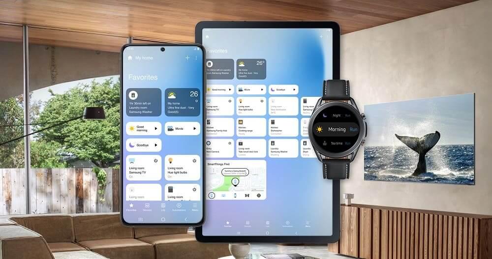 Samsung SmartThings presenta una nueva interfaz para una experiencia de hogar conectado más dinámica