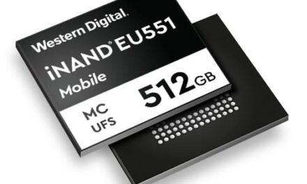 Western Digital presenta iNAND MC EU551, una nueva solución de almacenamiento para Smartphones 5G