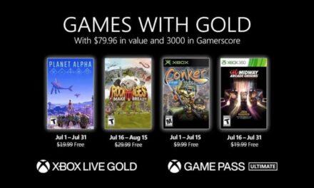 Anunciados los Games with Gold de julio de 2021