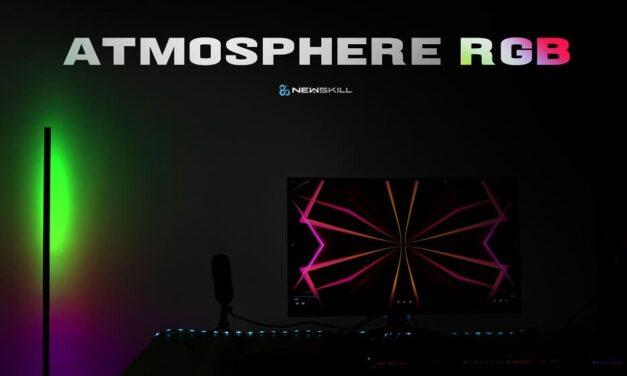 Newskill presenta Atmosphere RGB Light, ilumina tu espacio Gaming a otro nivel