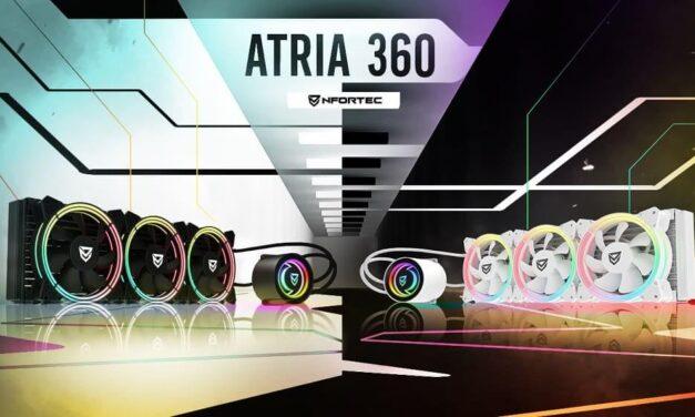 Nfortec aumenta su familia de refrigeraciones líquidas presentando a Atria 360