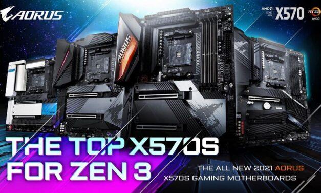 Gigabyte lanza la serie de placas base AMD X570S con refrigeración extremadamente silenciosa