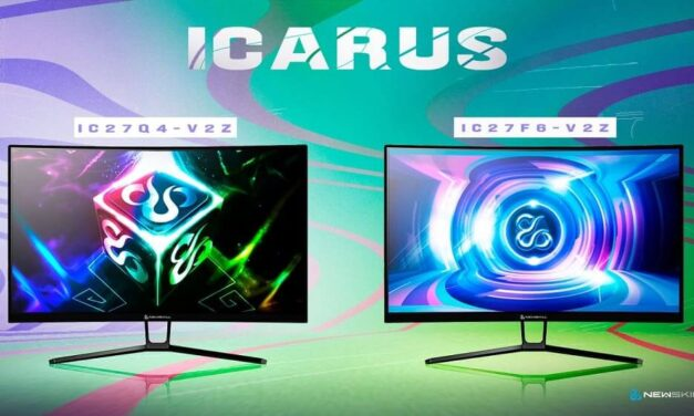 Newskill incorpora a su gama de monitores Icarus dos nuevos modelos de 27 pulgadas y pantalla curva
