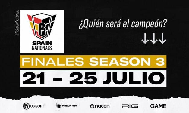 Sigue en directo las finales de la R6 Spain Nationals del 21 al 25 de julio