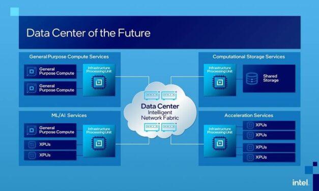 Intel presenta la unidad de procesamiento de infraestructura