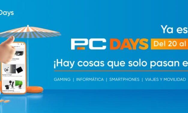 Arrancan los PcDays de PcComponentes: 7 días de grandes ofertas, sorteos y muchas sorpresas