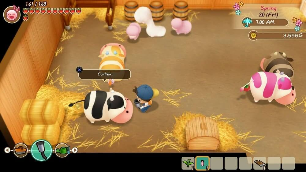 Story Of Seasons: Friends of Mineral Town llegará en formato físico para PlayStation 4 y Xbox One