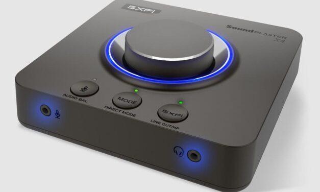 Ya disponible la Sound Blaster X4, la tarjeta de sonido todoterreno de Creative