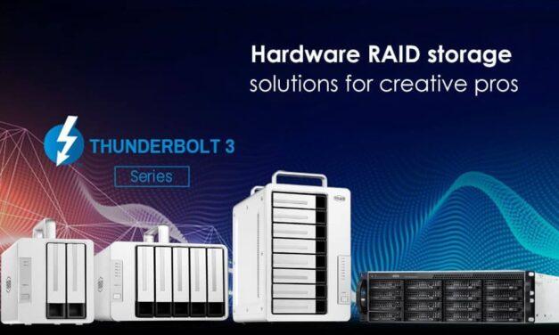 TerraMaster presenta el hardware RAID de mayor rendimiento de toda la familia Thunderbolt 3