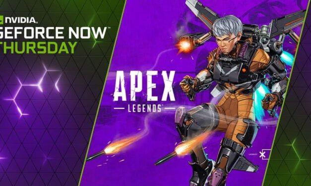 Con el Jueves GFN de esta semana llegan momentos legendarios en Apex Legends, una oferta extra especial en el E3 y 13 lanzamientos de juegos