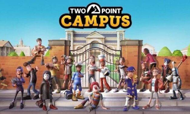 Bienvenido a Two Point Campus: matricúlate ahora para entrar en la clase de 2022