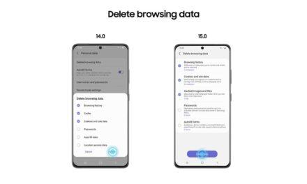 Ya está disponible la versión Beta de Samsung Internet 15.0