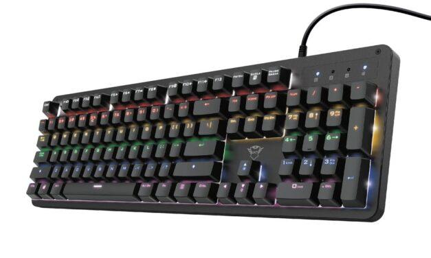 Trust presenta su nuevo teclado gaming mecánico ultrarrápido