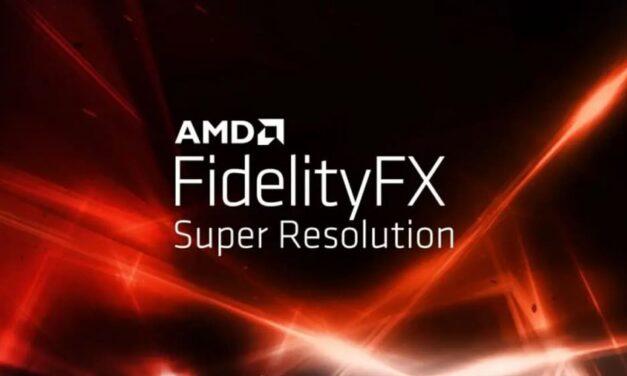 AMD FidelityFX Super Resolution disponible para desarrolladores en GPUOpen