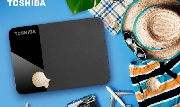 Conserva y disfruta de todos los momentos de verano con el almacenamiento portátil Toshiba Canvio