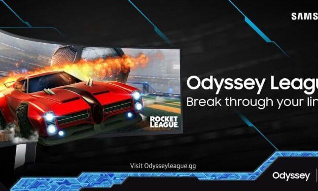 Vuelve Odyssey League de Samsung, esta vez con Rocket League