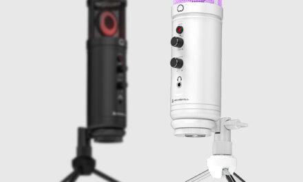 Newskill presenta el micrófono Agni Professional RGB y la versión Ivory de su conocido micrófono Kaliope