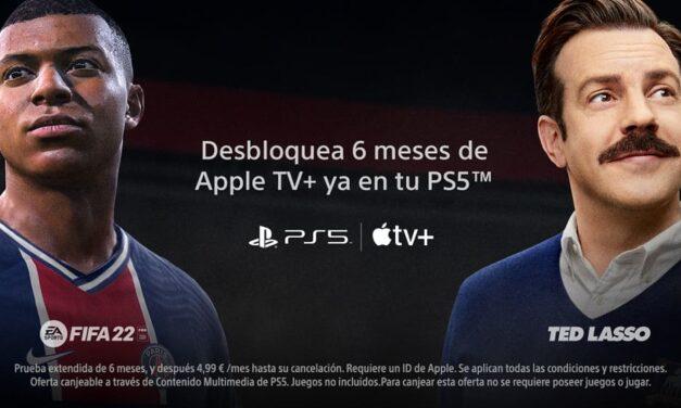 Los usuarios de PlayStation 5 ya pueden disfrutar de 6 meses de prueba de Apple TV+