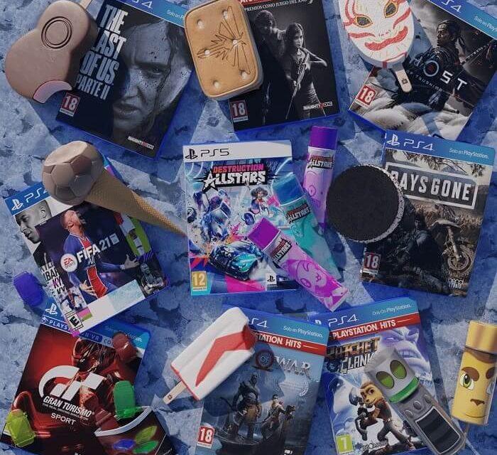 """Los """"helados"""" más refrescantes de PlayStation llegan a los puntos de venta habituales"""