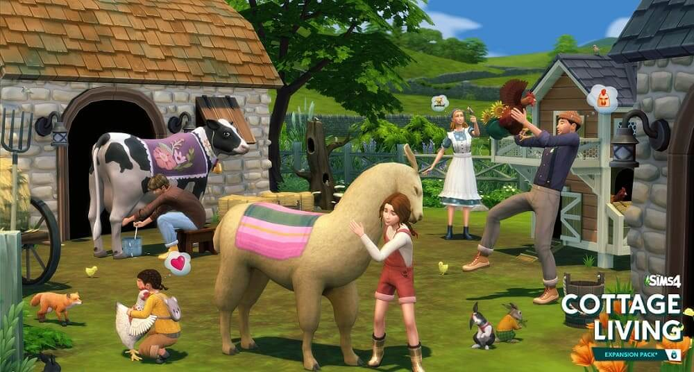EA y Maxis presentan con un nuevo tráiler 'Vida en el Pueblo', el último pack de expansión de Los Sims 4