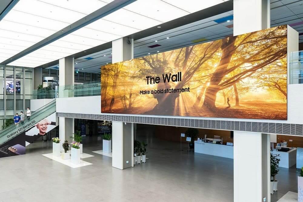 The Wall 2021 de Samsung (IWA) ya está disponible en todo el mundo