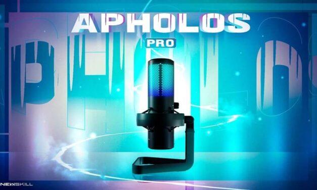 Newskill presenta el micrófono Apholos Pro y el soporte Mic Holder, el combo perfecto para tus streamings
