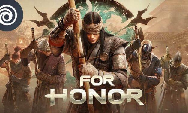 El nuevo héroe Kyoshin entra en el campo de batalla de For Honor el 22 de julio