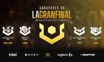 La sexta temporada de Amazon UNIVERSITY Esports ya tiene ganadores