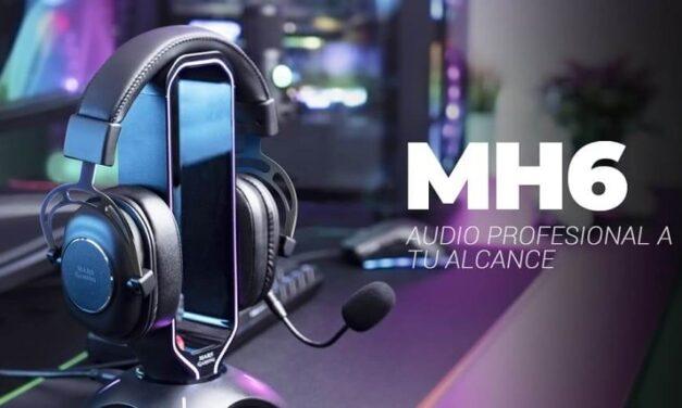 Nuevos auriculares profesionales Mars Gaming MH6