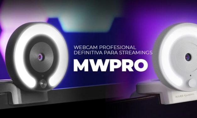 Nueva webcam profesional MWPRO de Mars Gaming