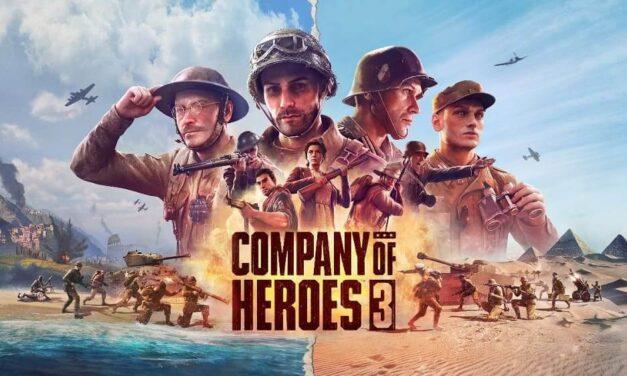 SEGA anuncia Company of Heroes 3 para PC