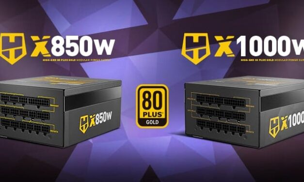 Nox incorpora dos nuevas fuentes para el alto rendimiento: Hummer X 850 W Gold Edition y Hummer X 1000 W Gold Edition