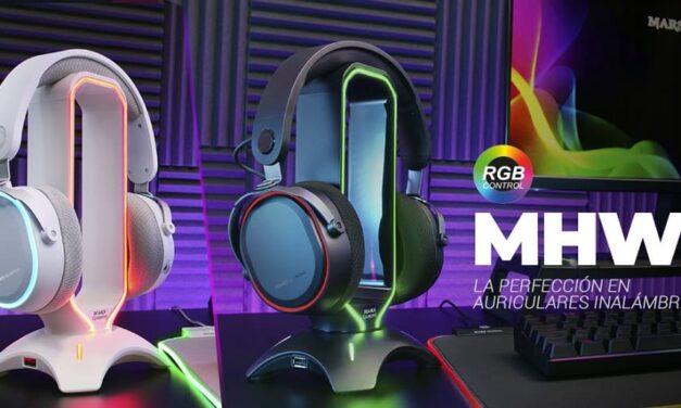 Nuevos auriculares inalámbricos MHW de Mars Gaming