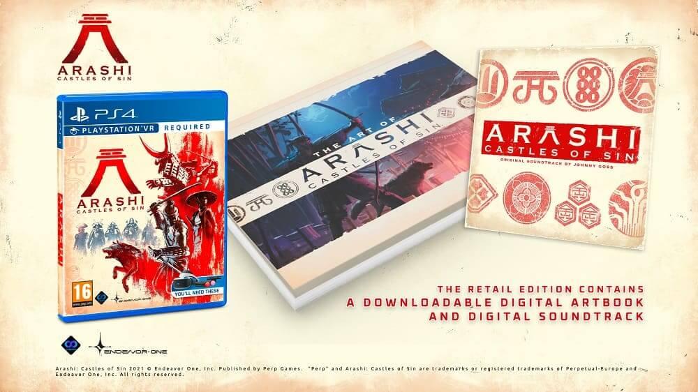 Arashi: Castles Of Sin llegará este verano en formato físico para PlayStation VR