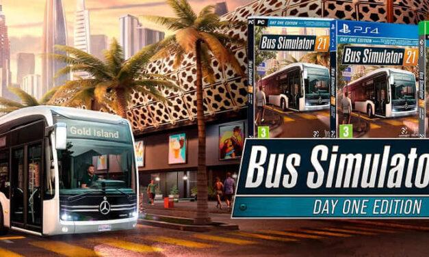 Bus Simulator 21 ya disponible en formato físico en una Day One Edition para PC y consolas