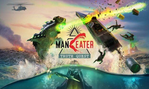 Sumérgete en las profundidades de Maneater con el estreno del descargable Truth Quest