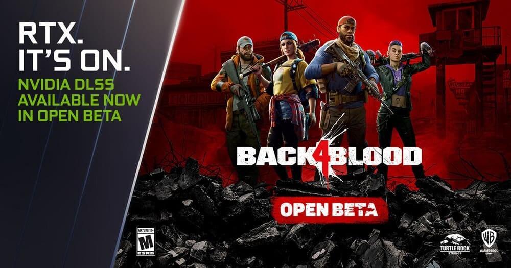 NVIDIA DLSS llega a la beta abierta de Back 4 Blood