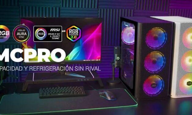 Nueva torre XL premium MCPRO de Mars Gaming, capacidad y refrigeración sin rival