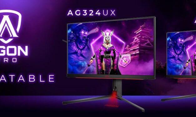 AGON by AOC amplía su gama de monitores para jugadores profesionales con AGON PRO esports