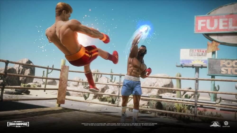 Tráiler lanzamiento de Rumble Boxing: Creed Champions, ya a la venta