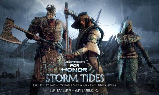 Tempest, la Season 3 del Year 5 de For Honor, arranca hoy con el evento Mareas de Tormenta