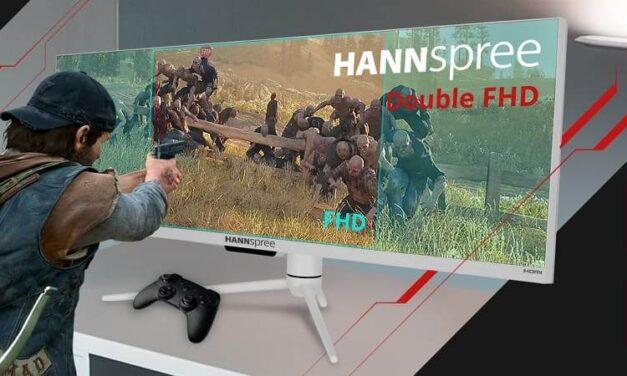 Hannspree lanza cuatro monitores gaming de hasta 240 Hz entre 27 y 43,8 pulgadas