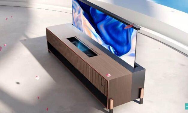 Hisense anuncia el primer Laser TV con pantalla enrollable