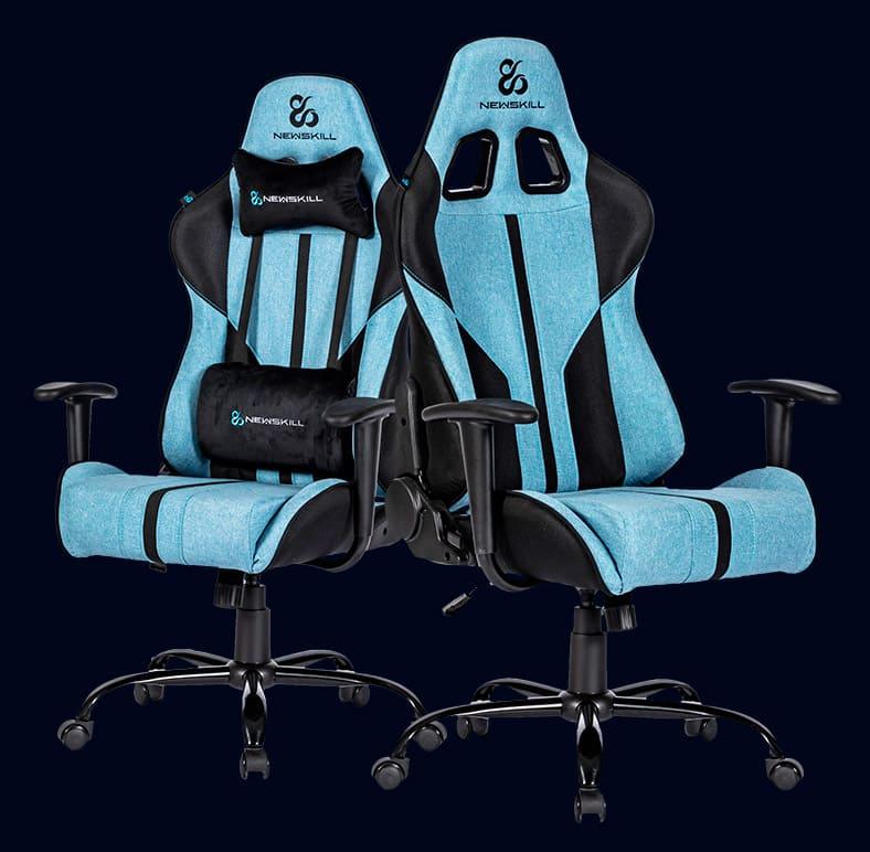 Newskill presenta su nueva silla Gaming Horus, también disponible en versión de tela: Horus Zephyr