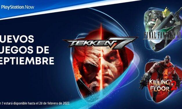 Tekken 7, Killing Floor 2 y Final Fantasy VII entre las novedades del mes de septiembre para PlayStation Now