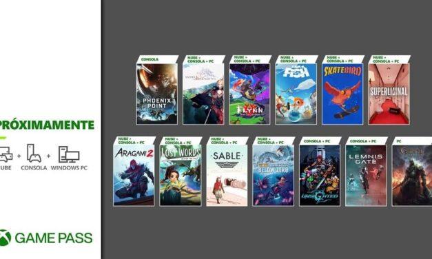 Próximamente en Xbox Game Pass: Sable, Lemnis Gate, Aragami 2 y más