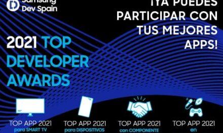 Finaliza el plazo de inscripción a los premios Top Developer Awards 2021