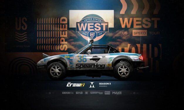 US Speed Tour West, el episodio 2 de la Season 3 de The Crew 2 de Ubisoft, disponible mañana mediante actualización gratuita
