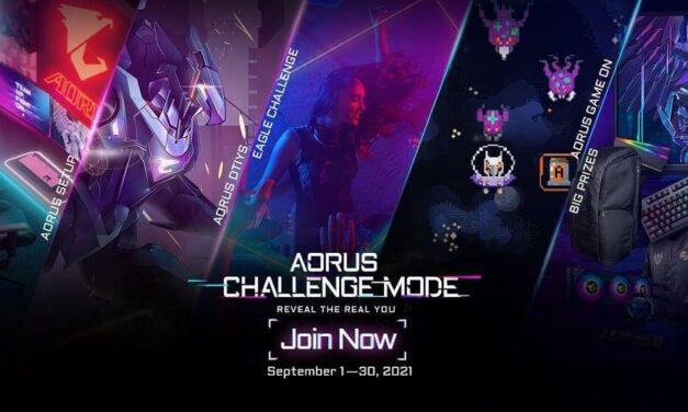 Gana gratis un producto de AORUS Gaming por valor de 7000 USD. ¡Acepta el reto y demuestra quién eres con AORUS!